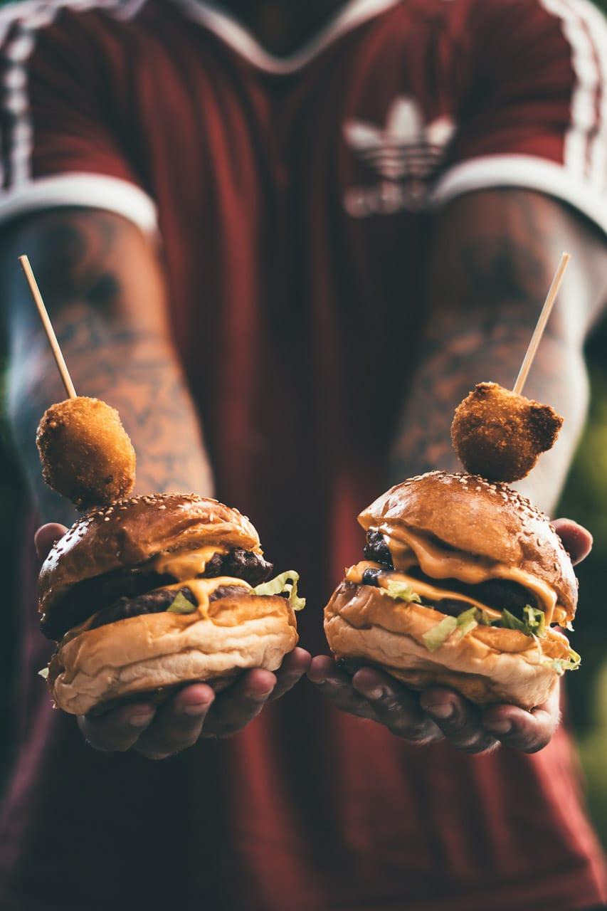 φωτογράφιση φαγητού - burger