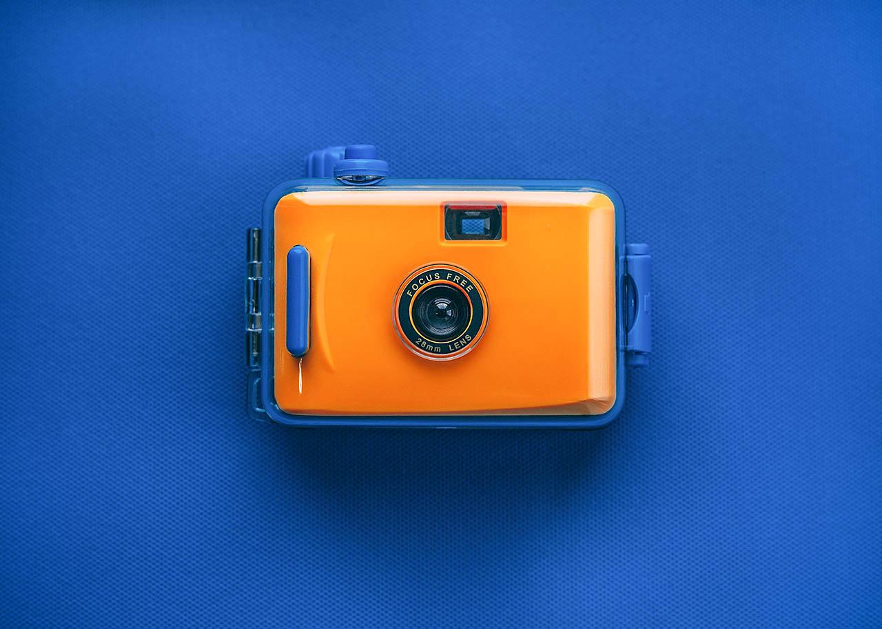 φωτογράφιση φωτογραφικής μηχανής για e-shop