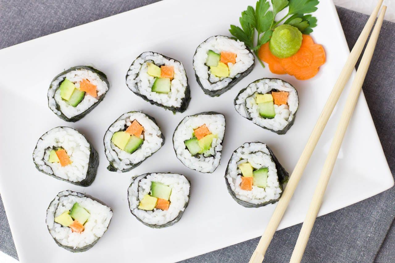 φωτογράφιση sushi